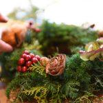 セモア | WORK SHOP  暮らし – kurashi – vol .18 クリスマスリース 当日の様子♪
