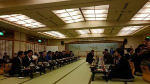 山口市湯田温泉のホテルにて トピア倶楽部忘年会を開催致しました。