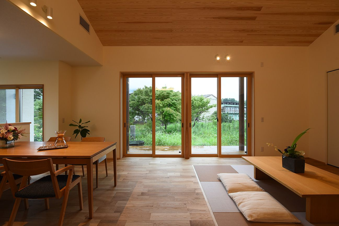 全館空調で快適な平屋の住まい